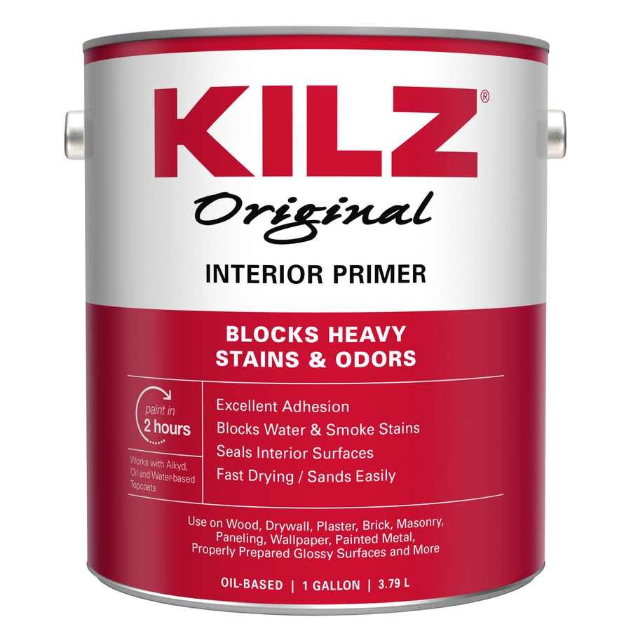 KILZ Kilz Original Low Voc Interior Oil Primer (Actual Net Contents: 128-fl oz)