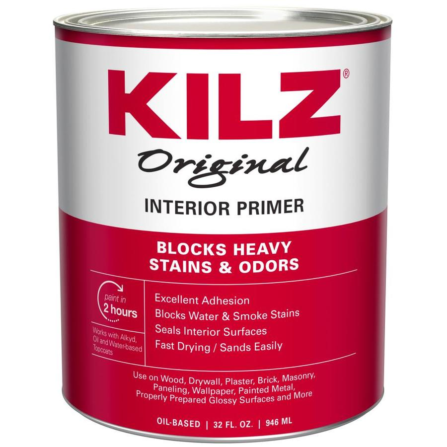 KILZ Original Low Voc Interior Oil Primer (Actual Net Contents: 32-fl oz)