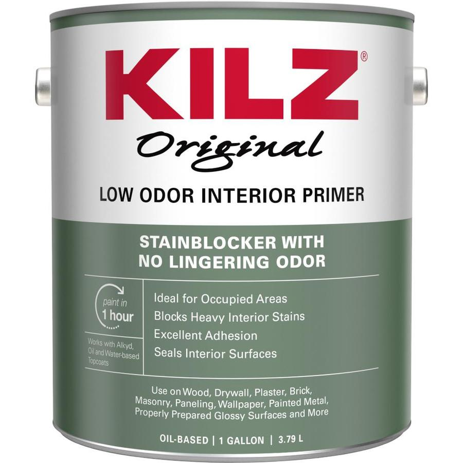 KILZ Kilz Odorless Interior Oil Primer (Actual Net Contents: 128-fl oz)