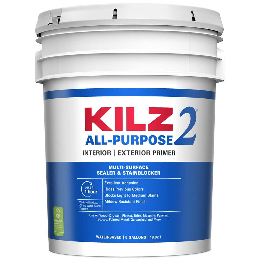 Shop Kilz 2 Interior Exterior Multi Purpose Water Based Wall And Ceiling Primer Actual Net