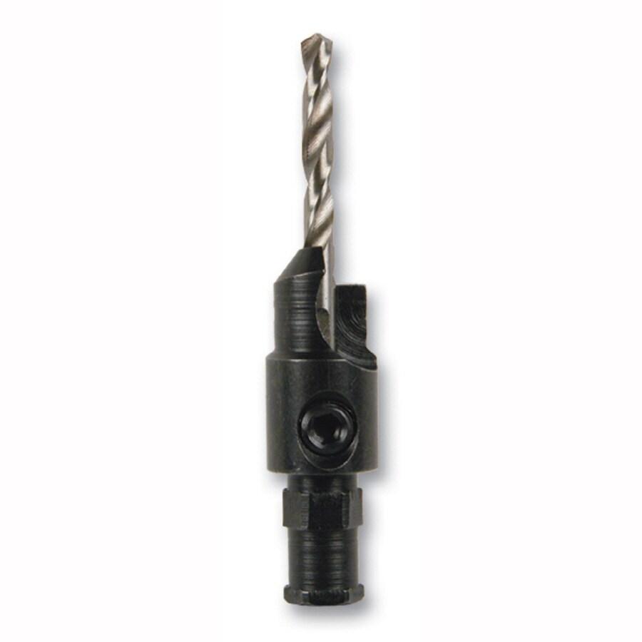 Kobalt 7/64-in High-speed Steel Black & Gold Twist Drill Bit