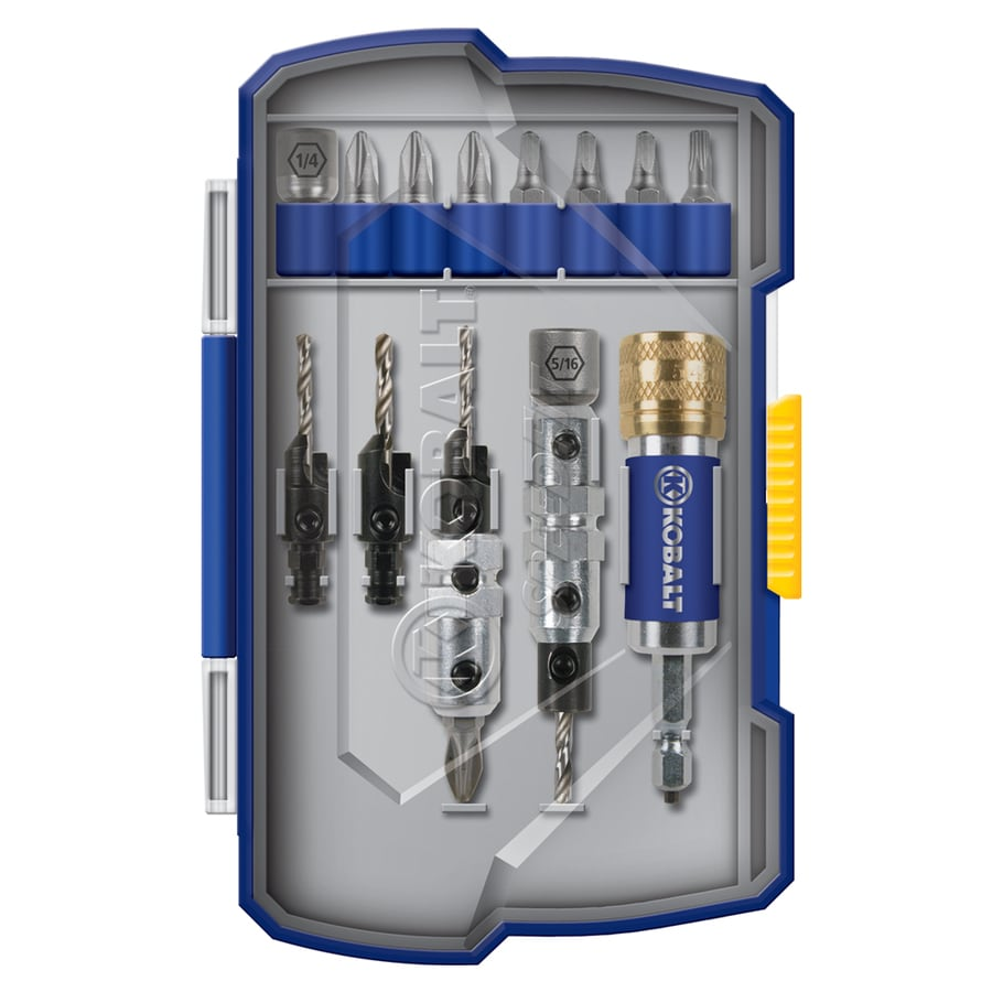 Kobalt 15-Piece Screwdriver Bit Set