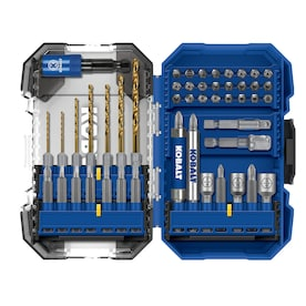 Kobalt 50-Piece Hex Shank Screwdriver Bit Set