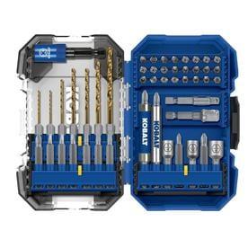 Kobalt 50-Piece Hex Shank Screwdriver Bit Set