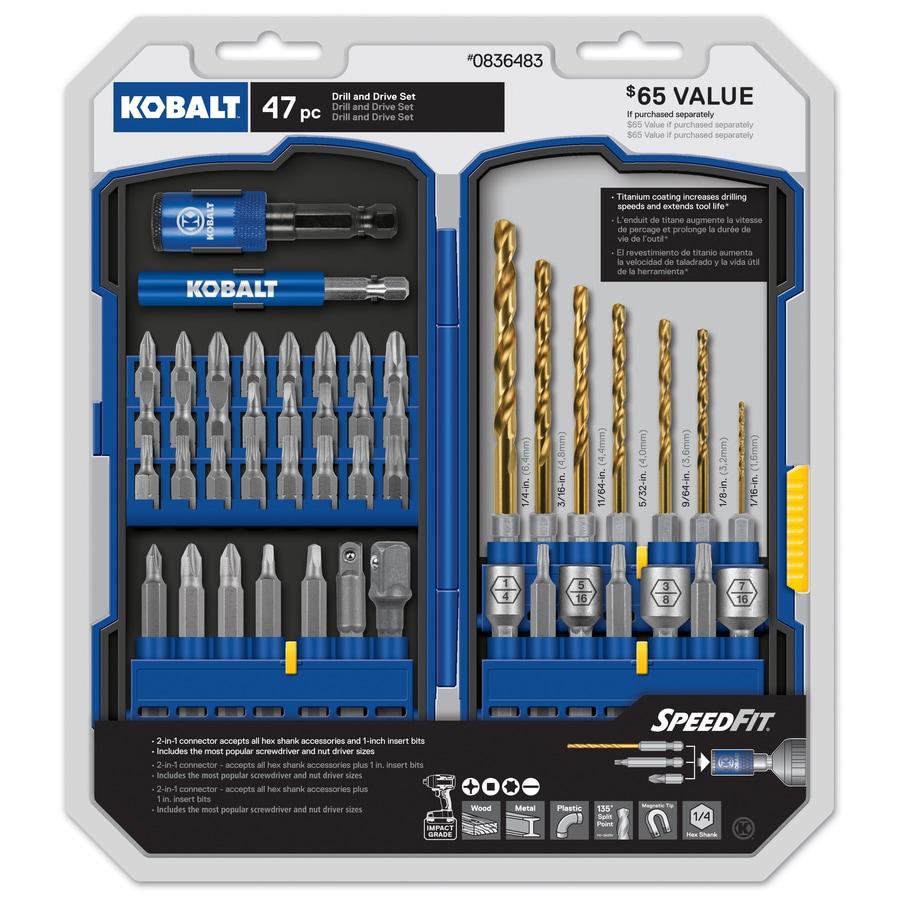 Kobalt Drill and Drive Set