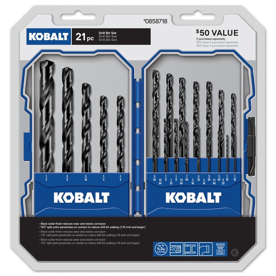 Kobalt 21-Piece Screwdriver Bit Set