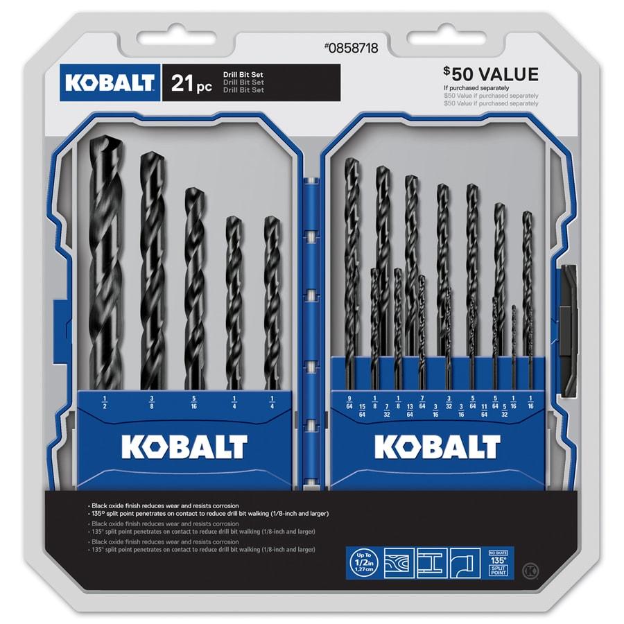 Kobalt 21-Piece Screwdriver Bit Set