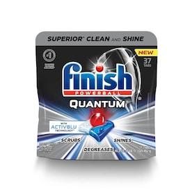 Finish Quantum 37-Pack 1 Fresh Dishwasher Detergent