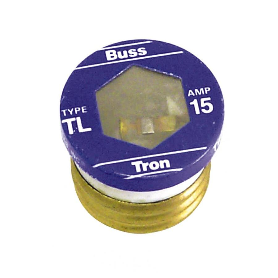 Shop Fuses At Replacement Box Fuse Unilversl Cooper Bussmann 3 Pack 15 Amp Time Delay Plug