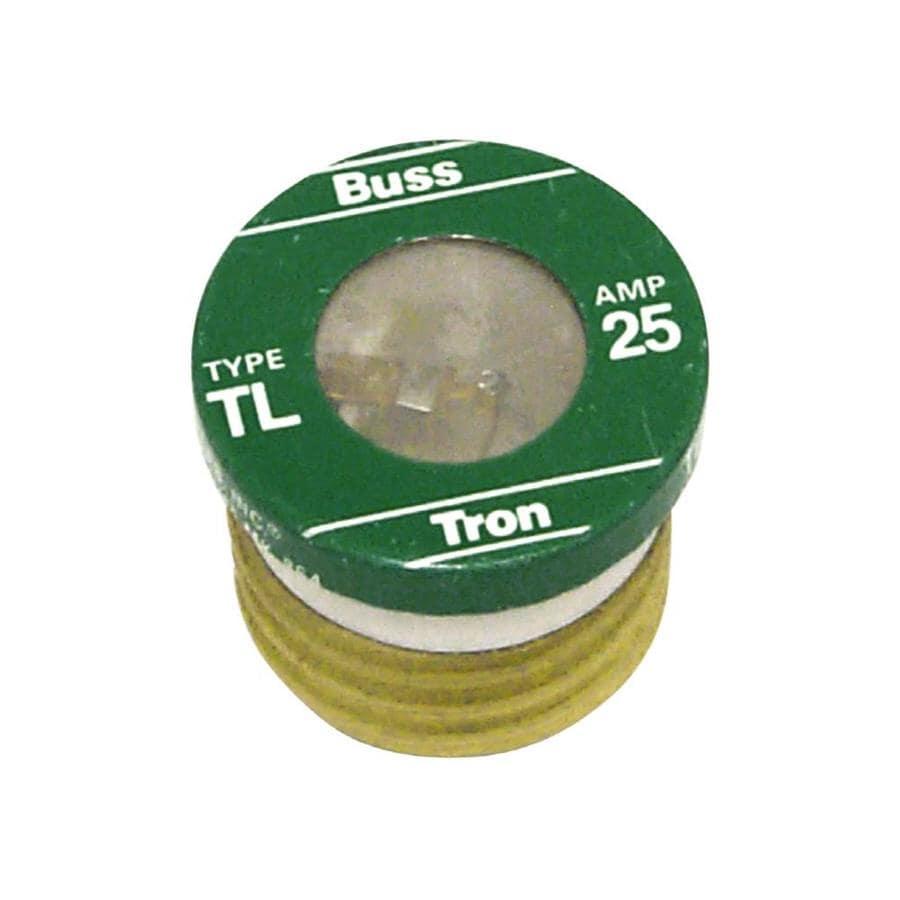 Cooper Bussmann 3-Pack 25-Amp Time Delay Plug Fuse