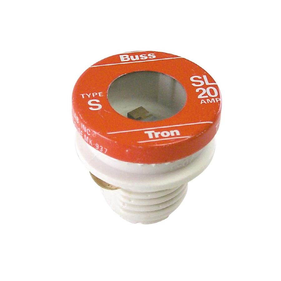 Cooper Bussmann 3-Pack 20-Amp Time Delay Plug Fuse