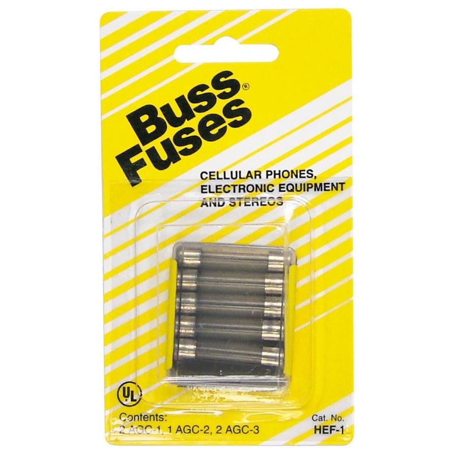 Cooper Bussmann 5 Pack 3 Amp Fast Acting Electronic Fuse