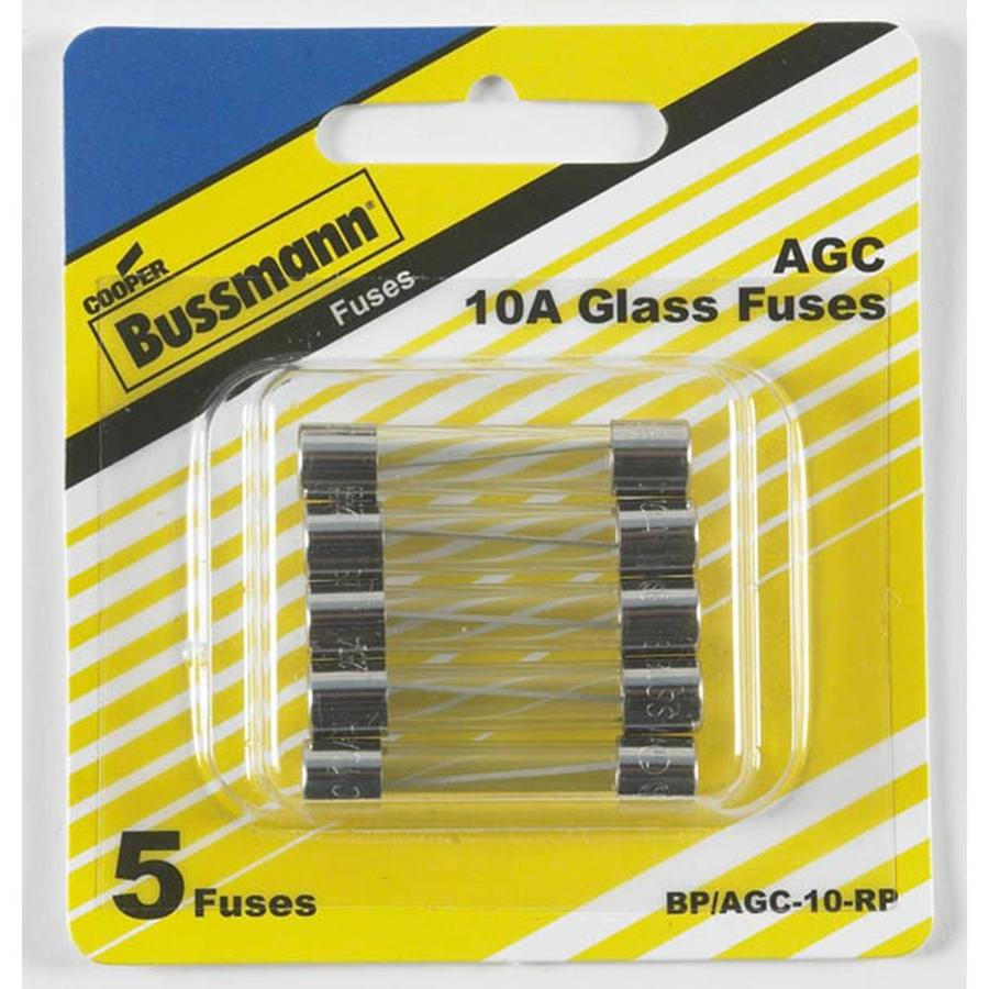 Cooper Bussmann 5 Pack 10 Amp Fast Acting Electronic Fuse At Dc
