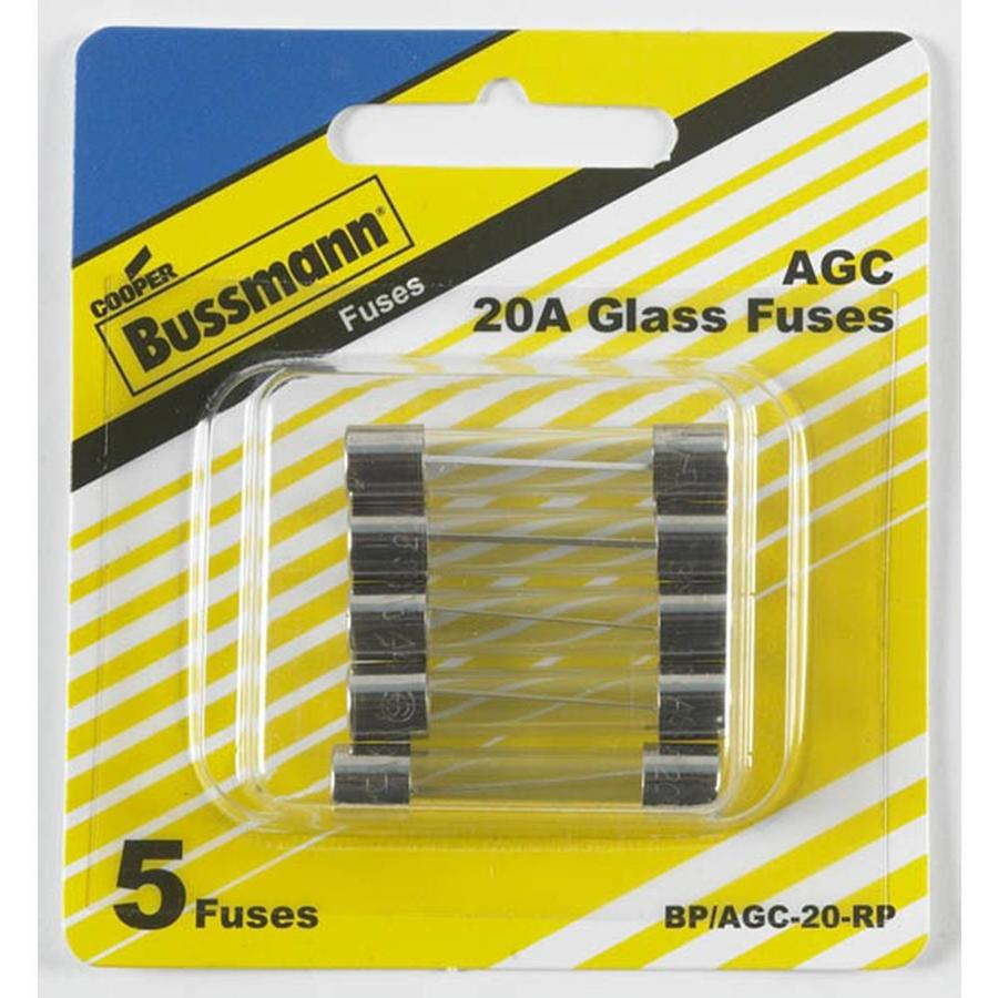 Cooper Bussmann 5-Pack 20-Amp Fast Acting Electronic Fuse