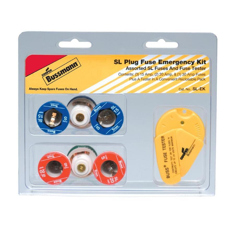 Cooper Bussmann 7-Pack 30-Amp Time Delay Plug Fuse