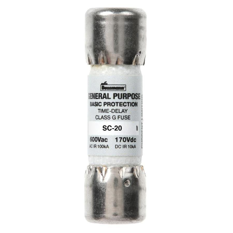 Cooper Bussmann 2-Pack 20-Amp Time Delay Electronic Fuse