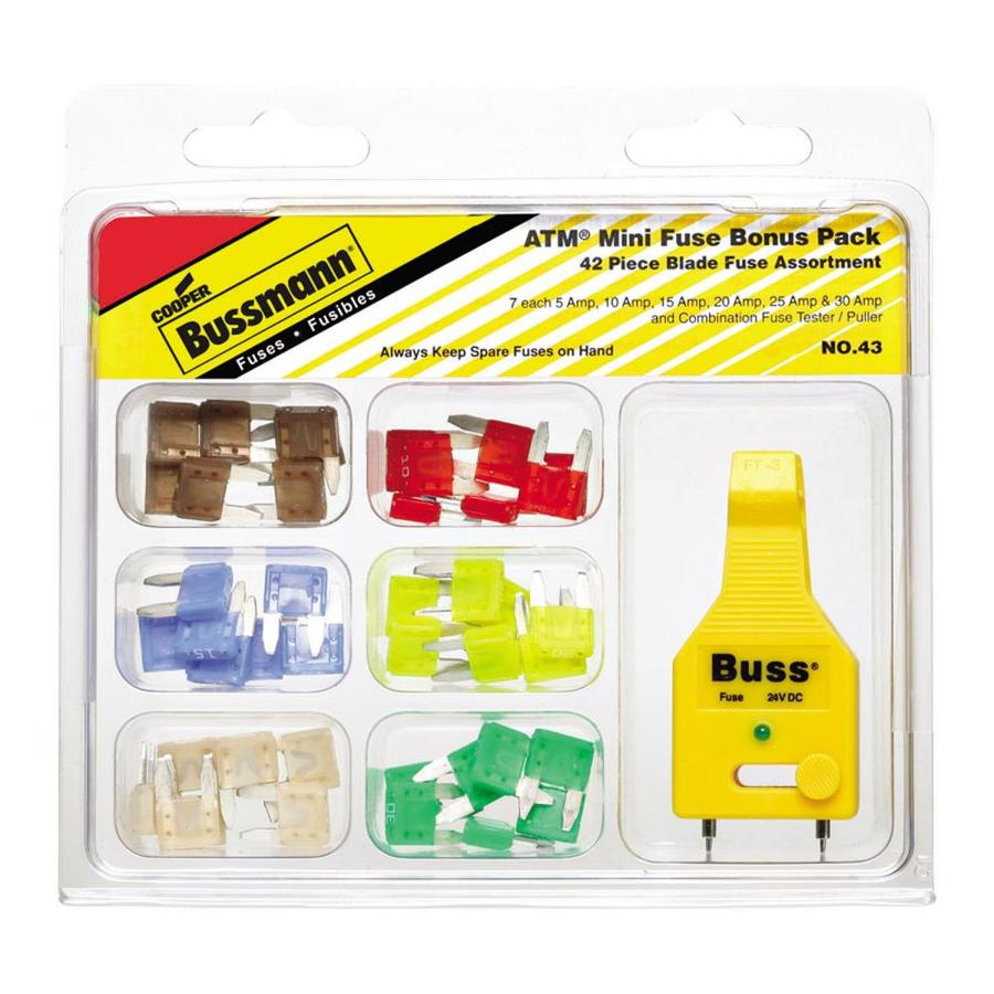 Cooper Bussmann 43-Pack 30-Amp Fast Acting Auto Fuse