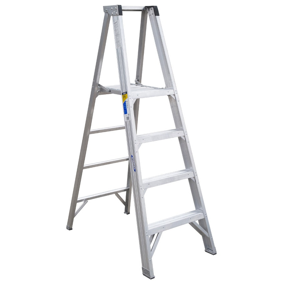 Werner 4-ft Aluminum 375-lb Type IAA Platform Ladder