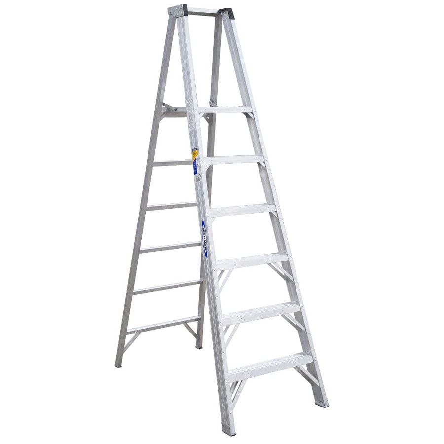 Werner 6-ft Aluminum 375-lb Type IAA Platform Ladder