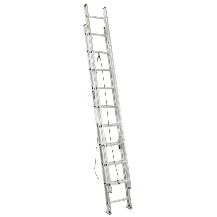 Werner D1100-2 17-ft Aluminum Type 3 - 200 lbs. Extension Ladder