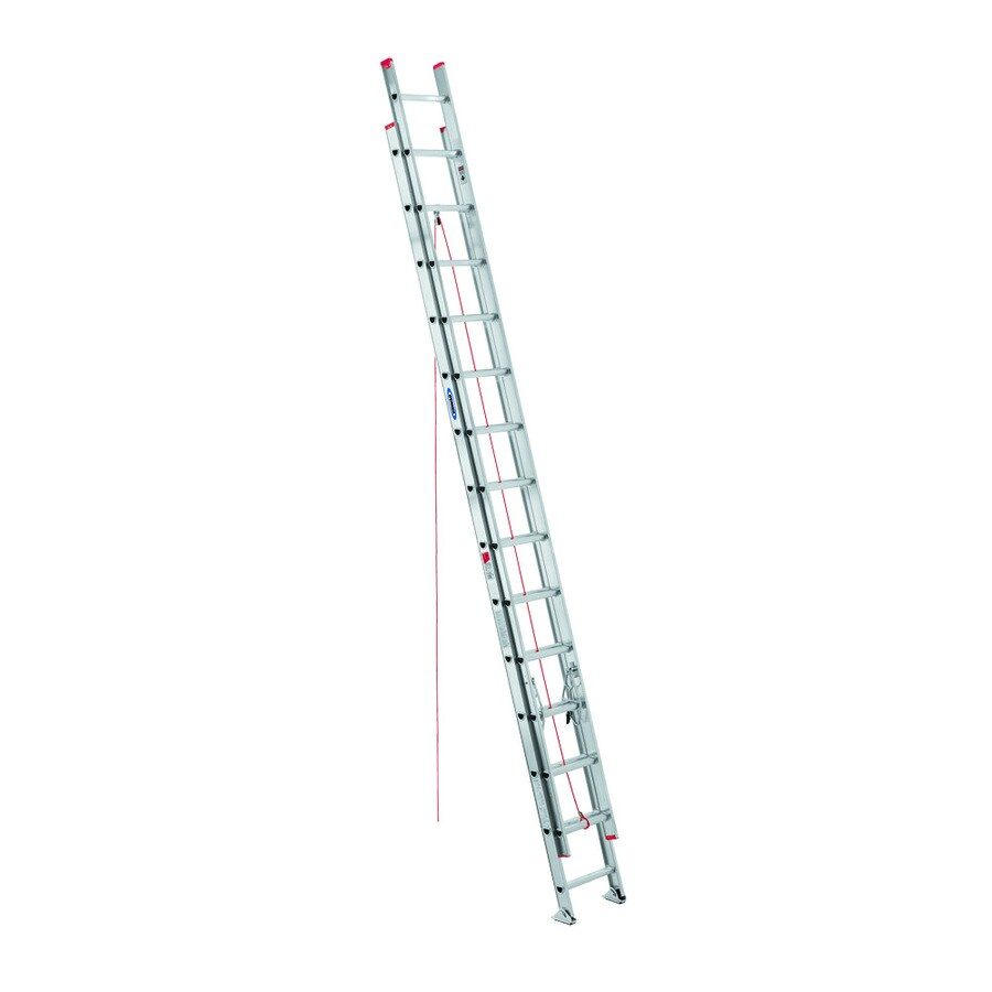 Werner 28-ft Aluminum 200-lb Type III Extension Ladder