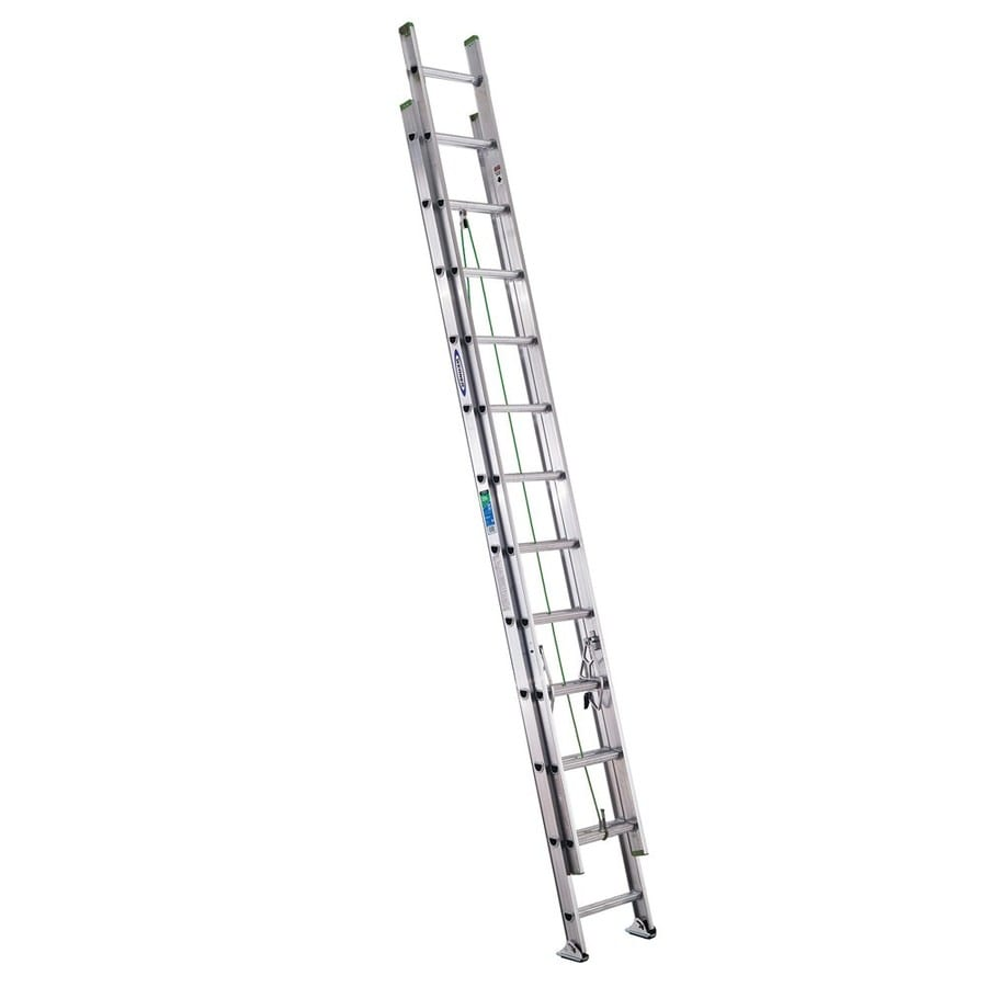 Werner 24' Aluminum Extension Ladder Type II 225 lbs.