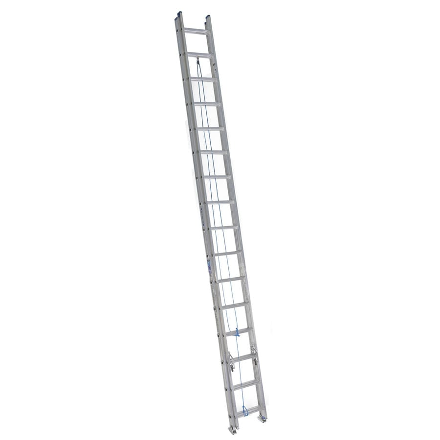 Werner 32-ft Aluminum 250-lb Type I Extension Ladder