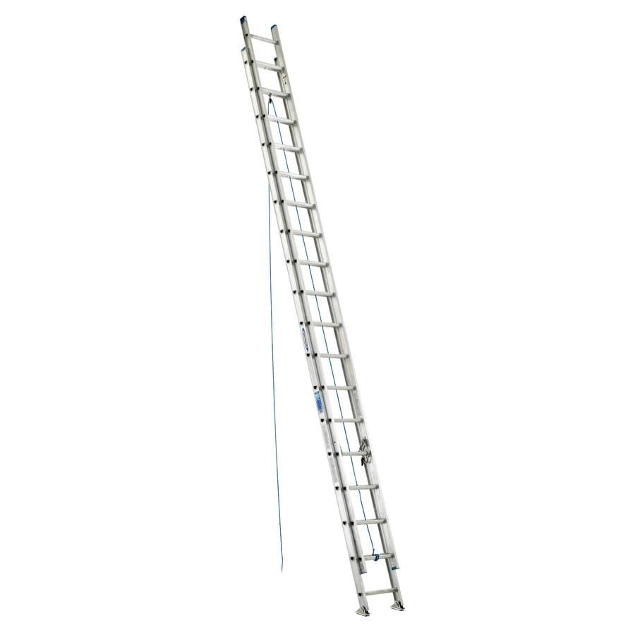 Werner 36-ft Aluminum 250-lb Type I Extension Ladder