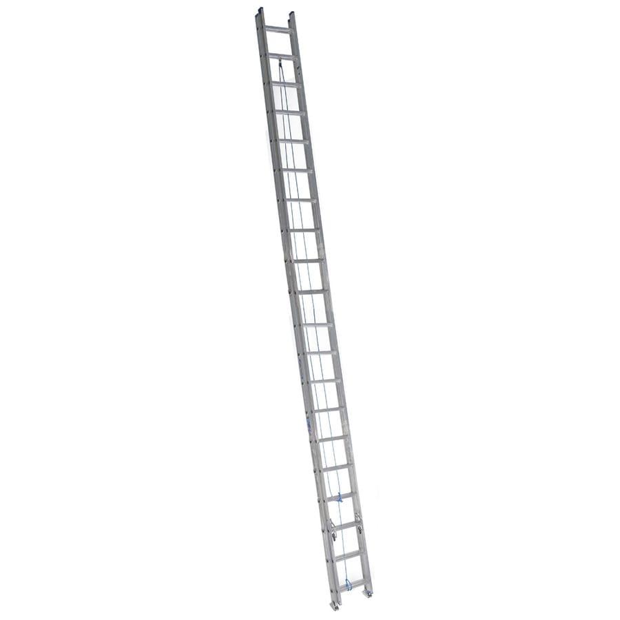 Werner 40-ft Aluminum 250-lb Type I Extension Ladder