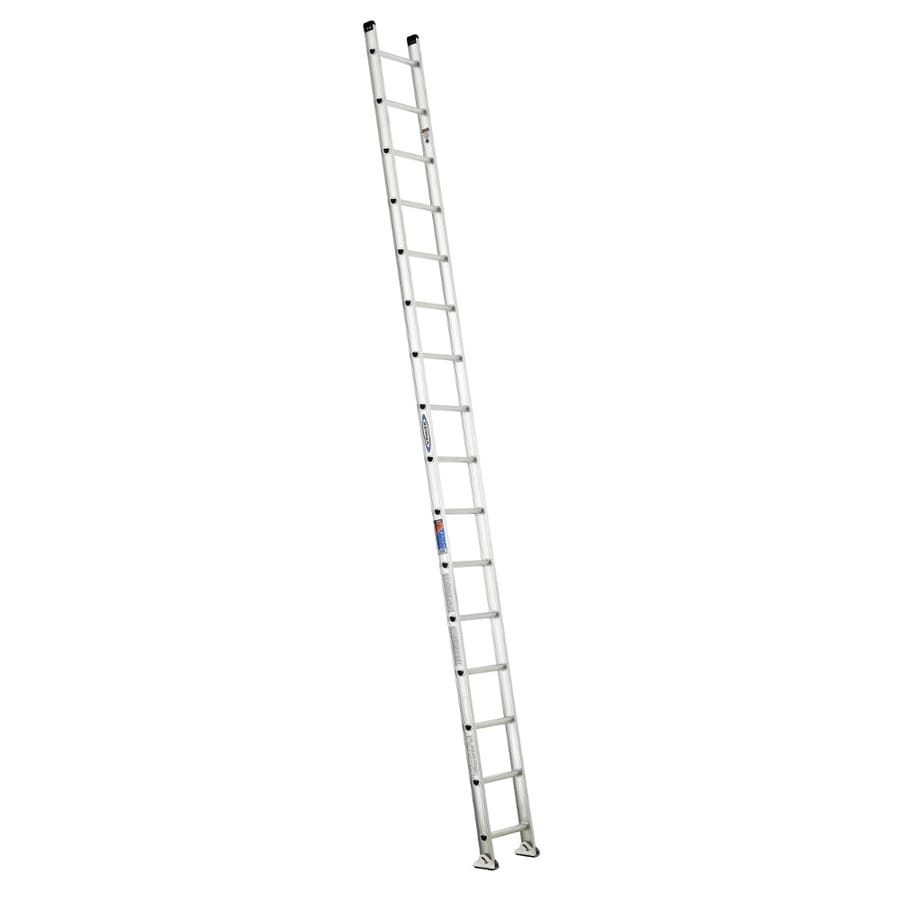 Werner 16-ft Aluminum 300-lb Type IA Straight Ladder