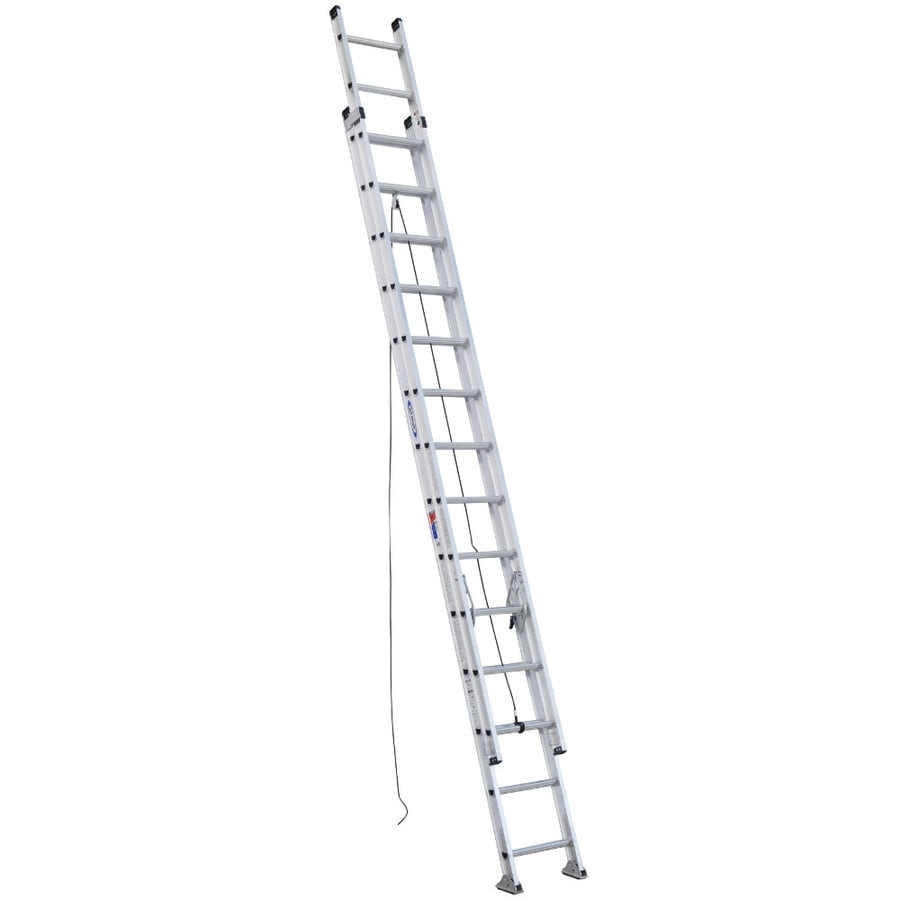 Werner 28-ft Aluminum 300-lb Type IA Extension Ladder