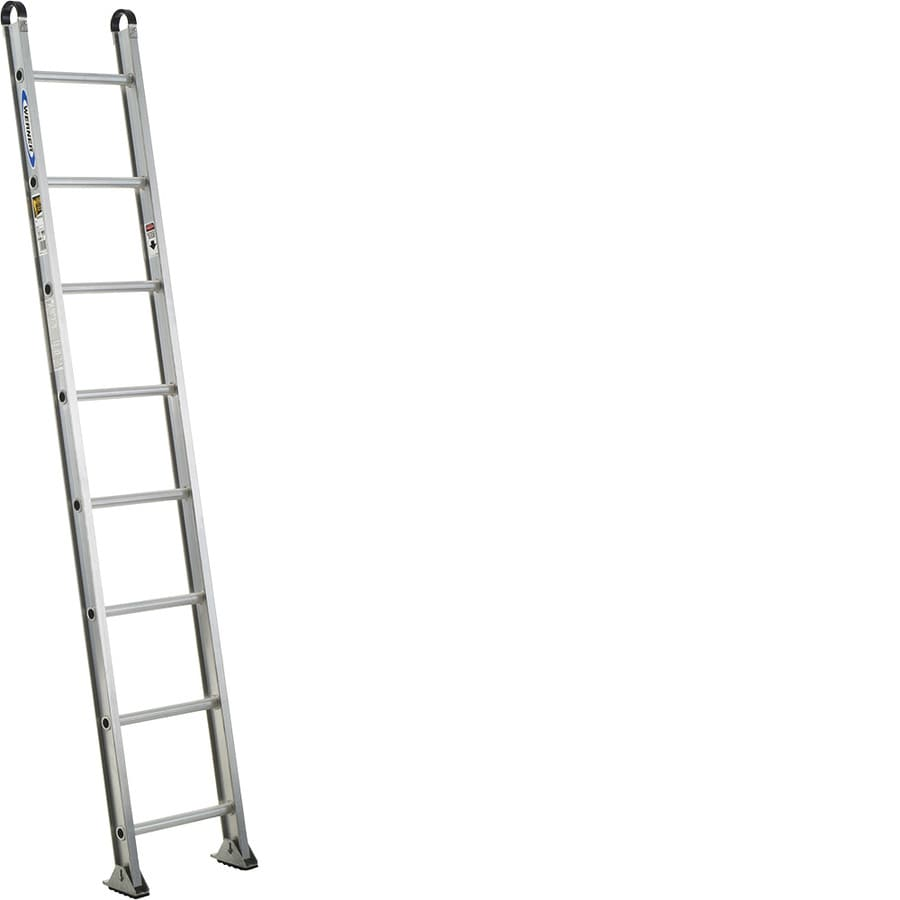 Werner 8-ft Aluminum 375-lb Type IAA Straight Ladder