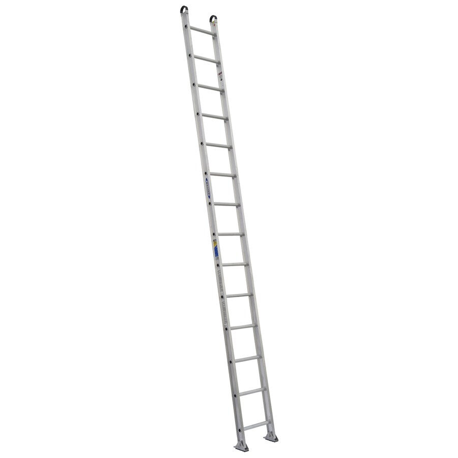 Werner 14-ft Aluminum 375-lb Type IAA Straight Ladder