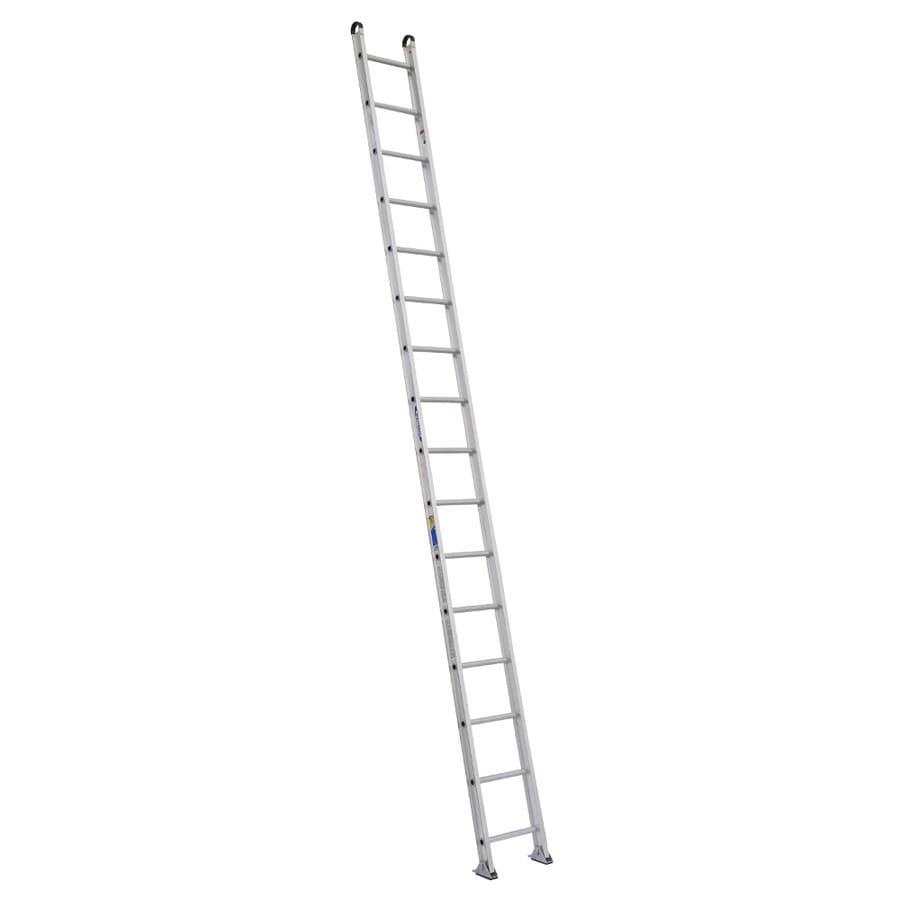 Werner 16-ft Aluminum 375-lb Type IAA Straight Ladder
