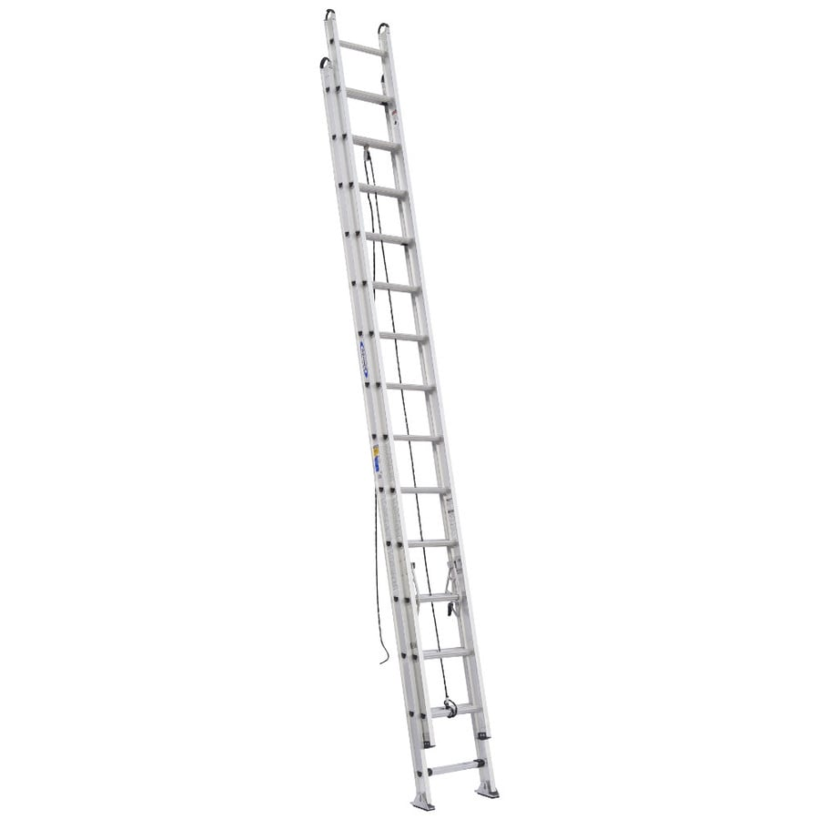 Werner 28-ft Aluminum 375-lb Type IAA Extension Ladder