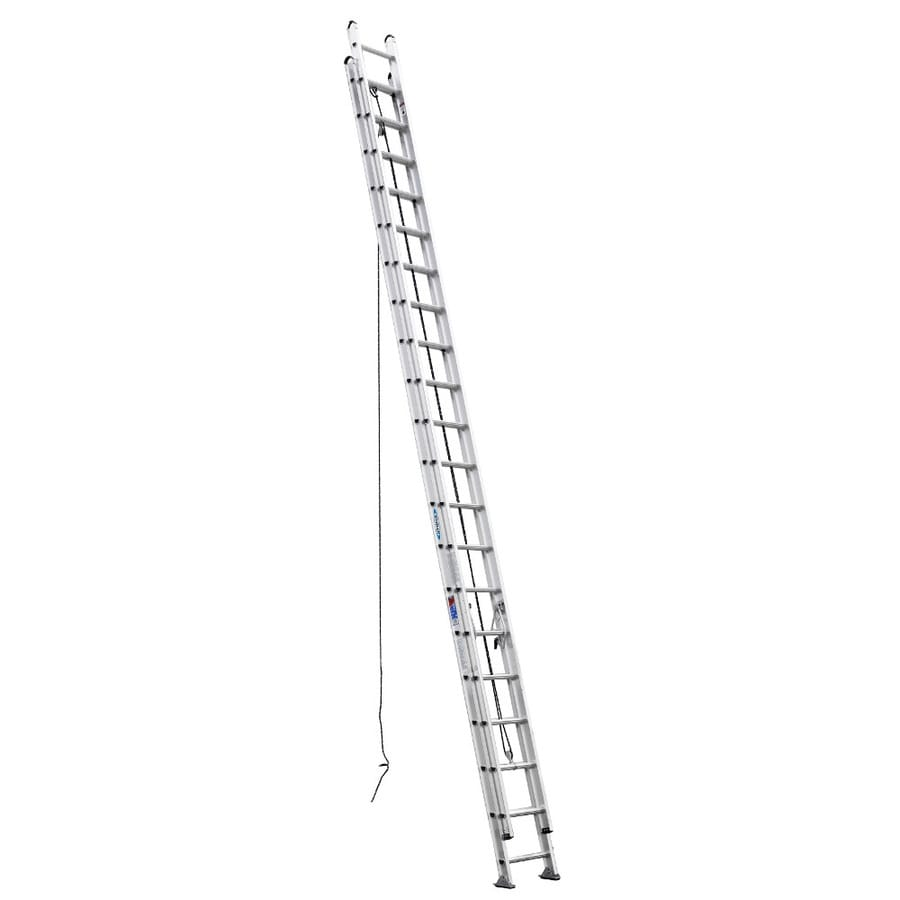 Werner 40-ft Aluminum 300 -lb Type Ia Extension Ladder