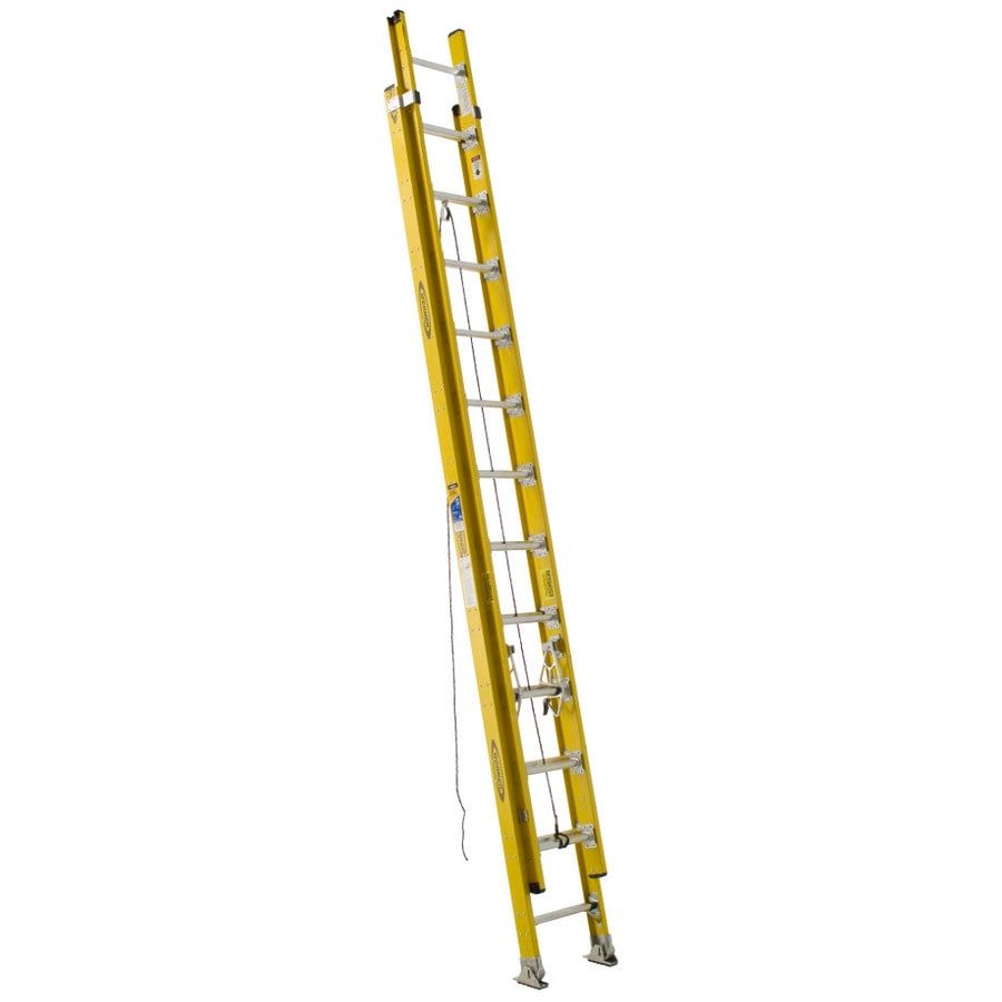 Werner D7100-2 21-ft Fiberglass Type 1AA - 375 lbs. Extension Ladder