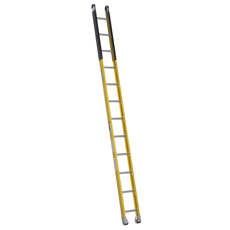 Werner 12-ft Fiberglass 375-lb Type IAA Manhole Ladder