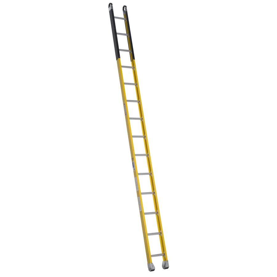 Werner 14-ft Fiberglass Type 1AA - 375 lbs. Manhole Ladder