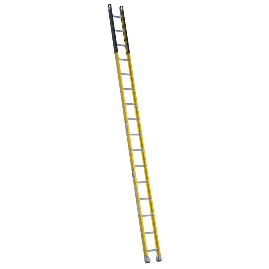 Werner 16-ft Fiberglass 375-lb Type IAA Manhole Ladder
