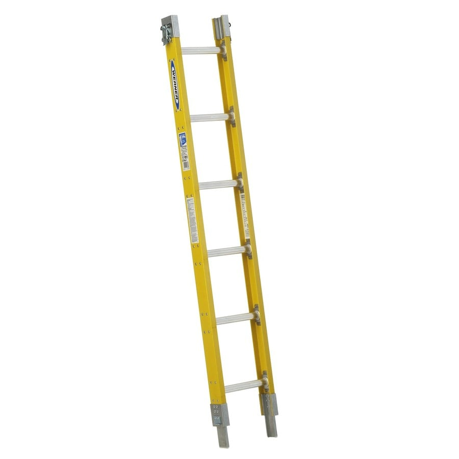 Werner S7700-1 6-ft Fiberglass Type 1 - 250 lbs. Sectional Ladder