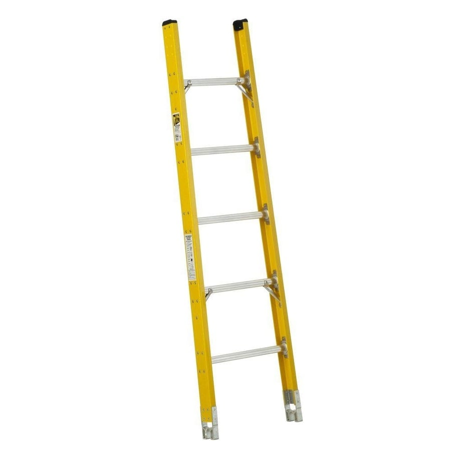 Werner 6-ft Fiberglass 375-lb Type IAA Sectional Ladder