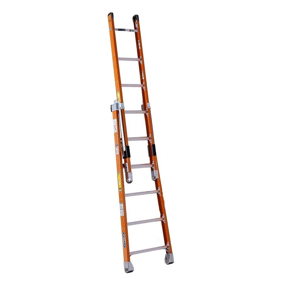 Werner 6-ft Fiberglass 300-lb Type IA Combination Ladder