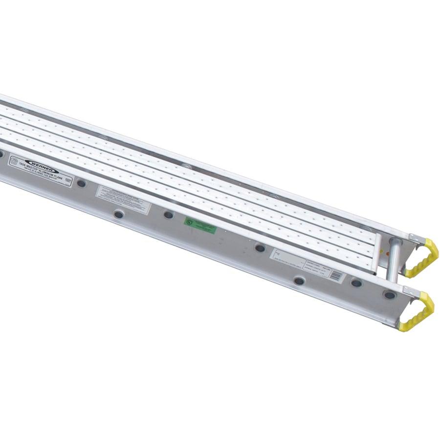 Werner 28-ft x 6-in x 12-in Aluminum Work Platform