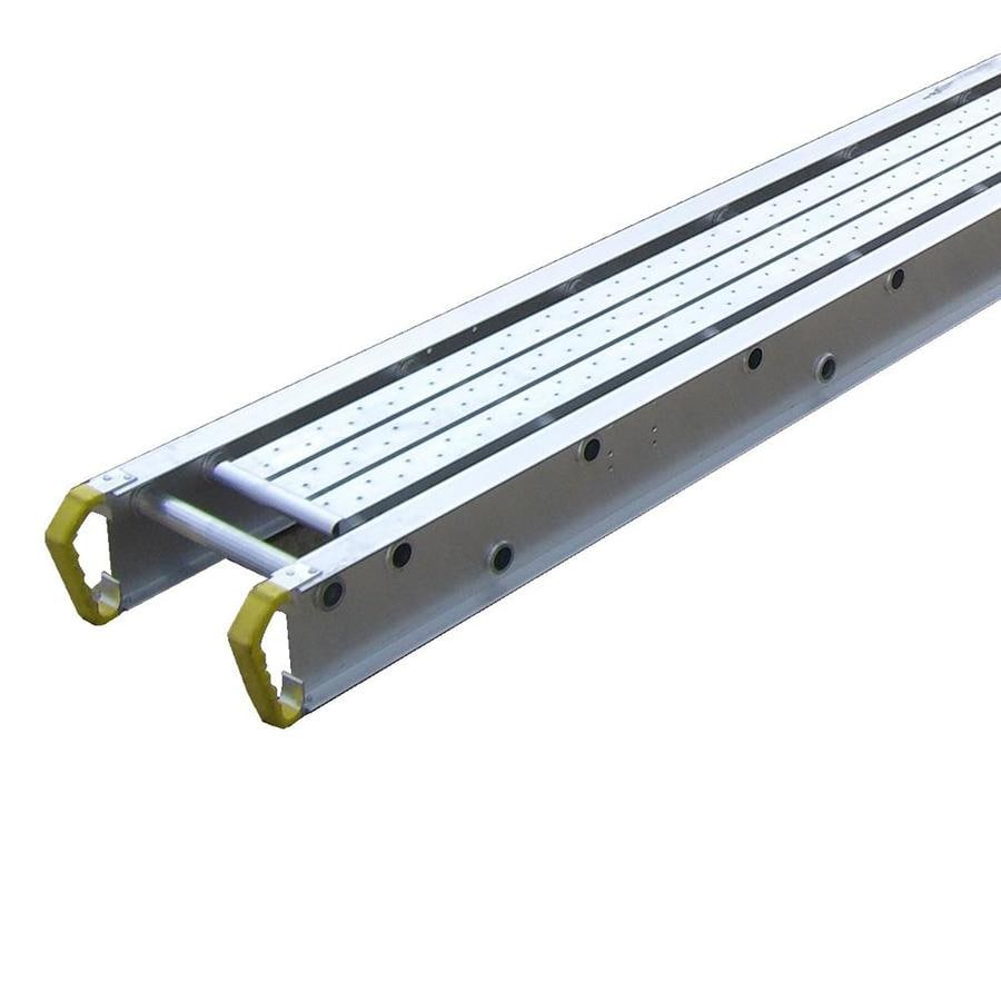 Shop Werner 0 33 Ft X 14 In 500 Lbs Aluminum Scaffold