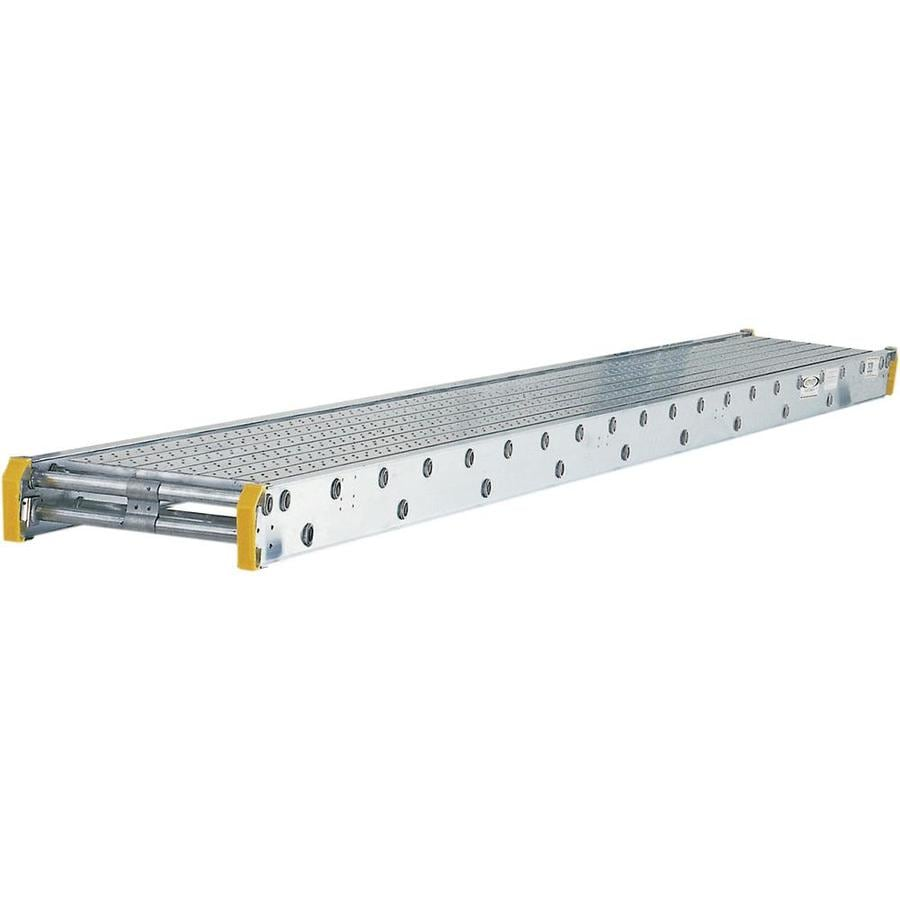 Werner 8-ft x 4-in x 20-in Aluminum Scaffold Stage