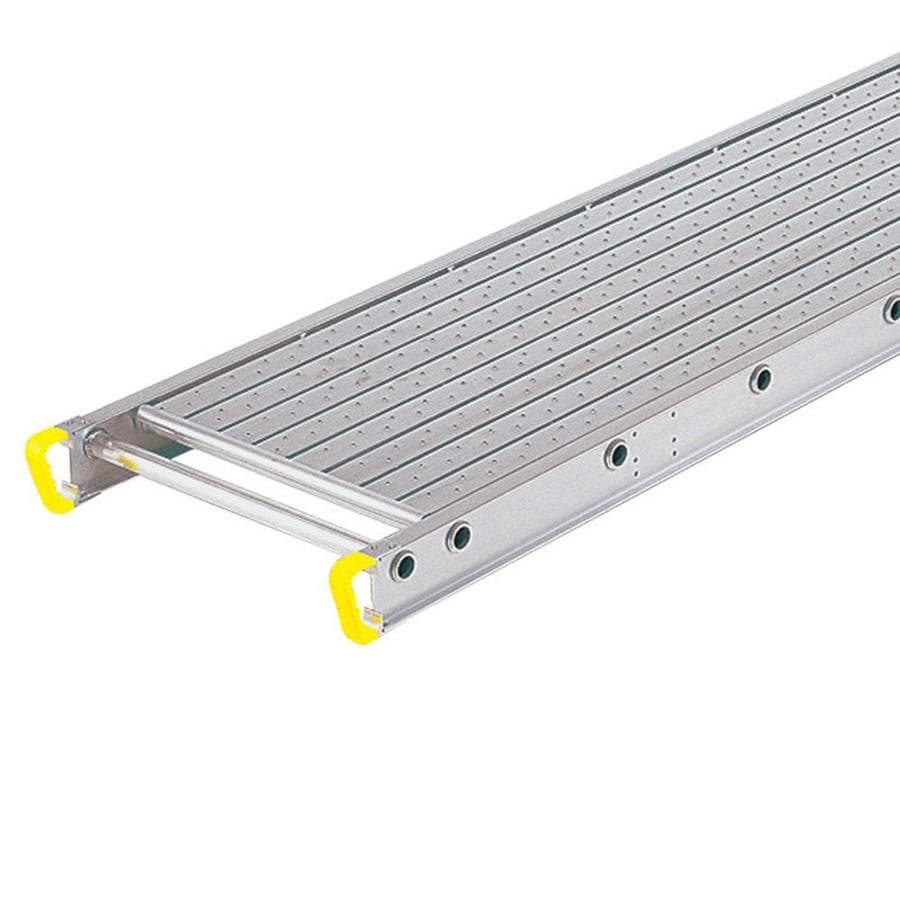 Werner 8-ft x 4-in x 24-in Aluminum Scaffold Stage