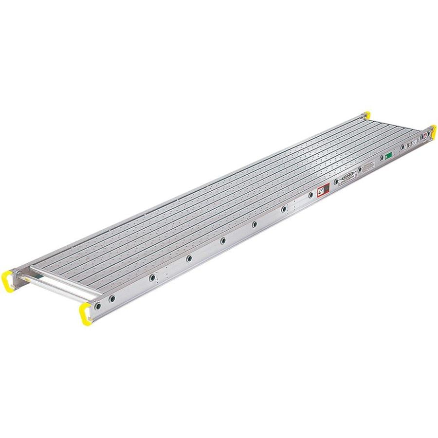 Werner 12-ft x 4-in x 24-in Aluminum Scaffold Stage