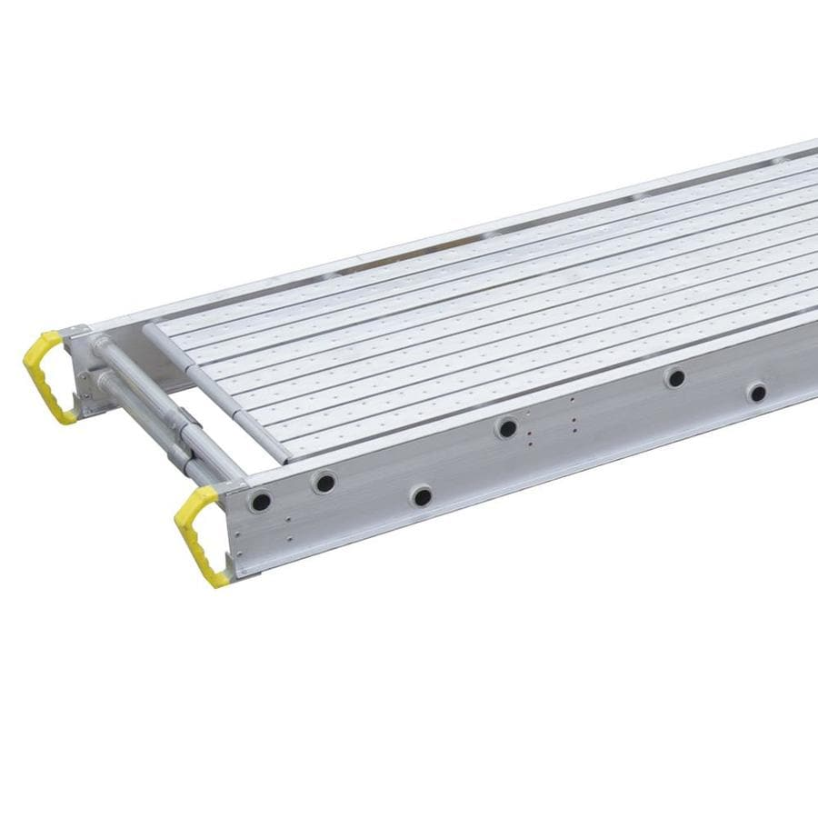 Werner 12-ft x 4-in x 28-in Aluminum Scaffold Stage