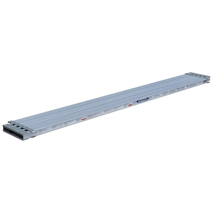 Werner 10-ft x 2.4-in x 25.92-in Aluminum Scaffold Plank